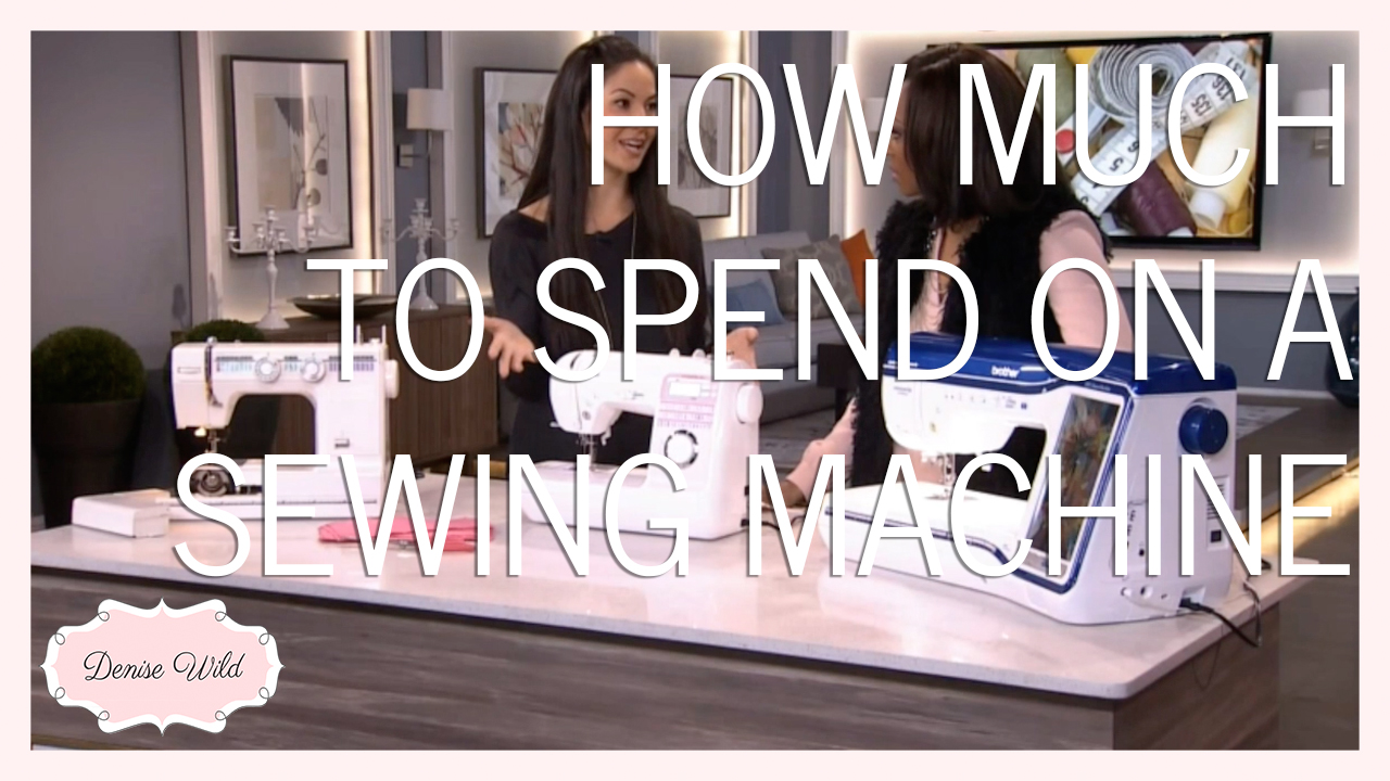 how much is a sewing machine