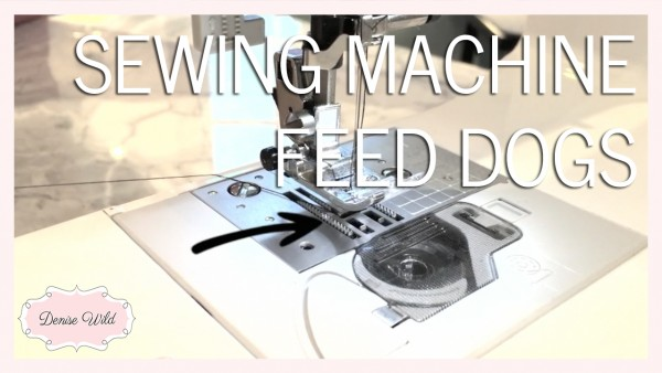 Sewing machine feed dogs