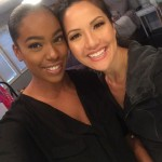 The lovely Raquel Moore of Moore Beauty Inc did my makeup