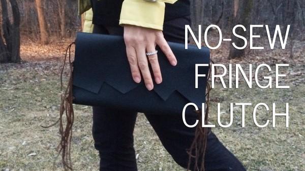 No-Sew Clutch