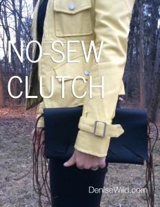 No_Sew_Fringe_Clutch