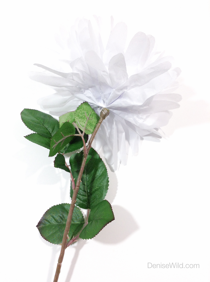 tissue paper flowers diy How can the answer be improved.