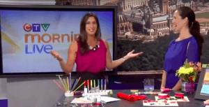 Denise On TV: Morning Live Ottawa, December 8 @ Morning Live (CTV)