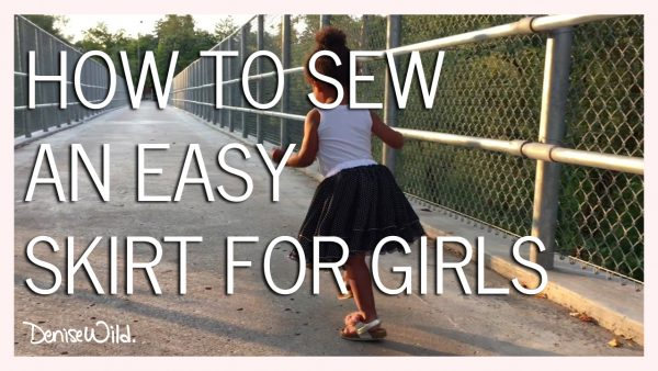 sew a skirt without a pattern