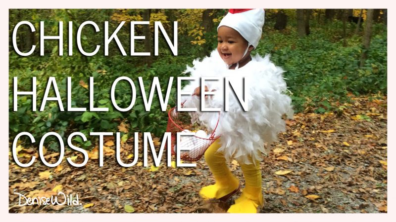 DIY Halloween Chicken Costume For Toddlers  sc 1 st  Denise Wild & DIY Halloween Chicken Costume For Toddlers - Denise Wild
