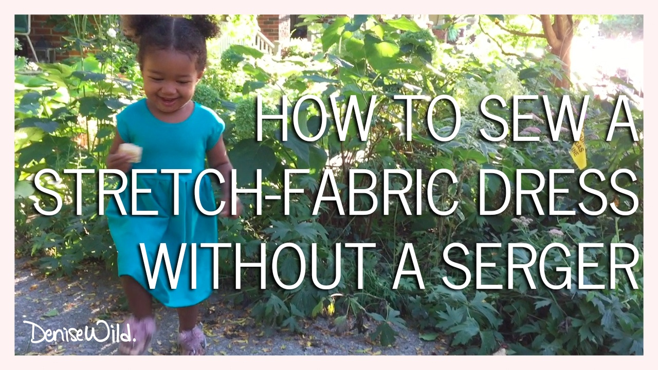 727fa31c4 How To Sew Stretch Fabrics With A Sewing Machine (Video)