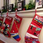 Memory stockings I made for the family