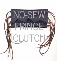 No sew clutch