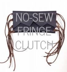 No sew clutch