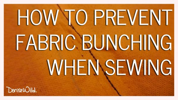 prevent pulled fabric